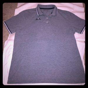 Kappa Gray Short Sleeve Polo Shirt